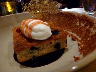 Forage (DT Vancouver) - Blueberry Hazelnut Torte