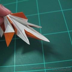 วิธีพับกระดาษเป็นรูปหมี (Origami Bear) 033