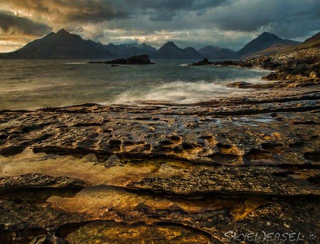 Sea-Wet Rock