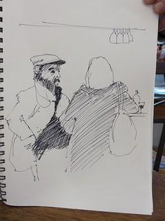 46e sketchcrawl 2015 01 31  041 (Copier) | by Marie France B