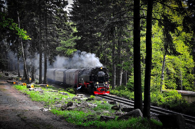 Schierke Saxony-Anhalt Harz Germany 19th May 2016