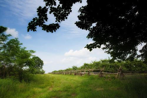 history rural fence landscape newjersey monmouth revolutionarywar battlefield 1778