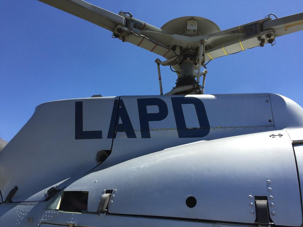 LAPD Helicopter | Joshua De vault | Flickr