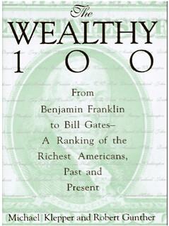 wealthy 100