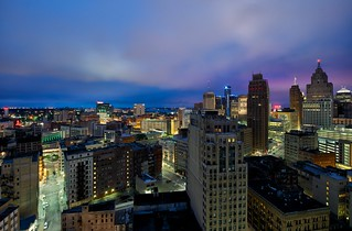 Detroit From The Top Floor | by Mike Boening Photography