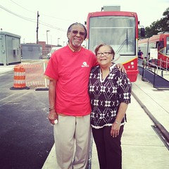 Thanks for coming out, Councilmember Bonds!