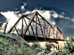 West Monroe Louisiana Ouachita River train bridge