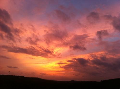sunset twilight kerala