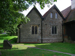 north aisle and vestry