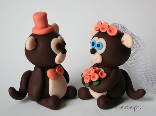 Monkey Cake Topper | fliepsiebieps | Flickr