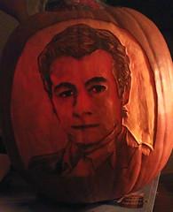 Patrick Jane Pumpkin - by D.Erin