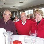 Jerry Schroeder, Jim Hanson, Mary Caron