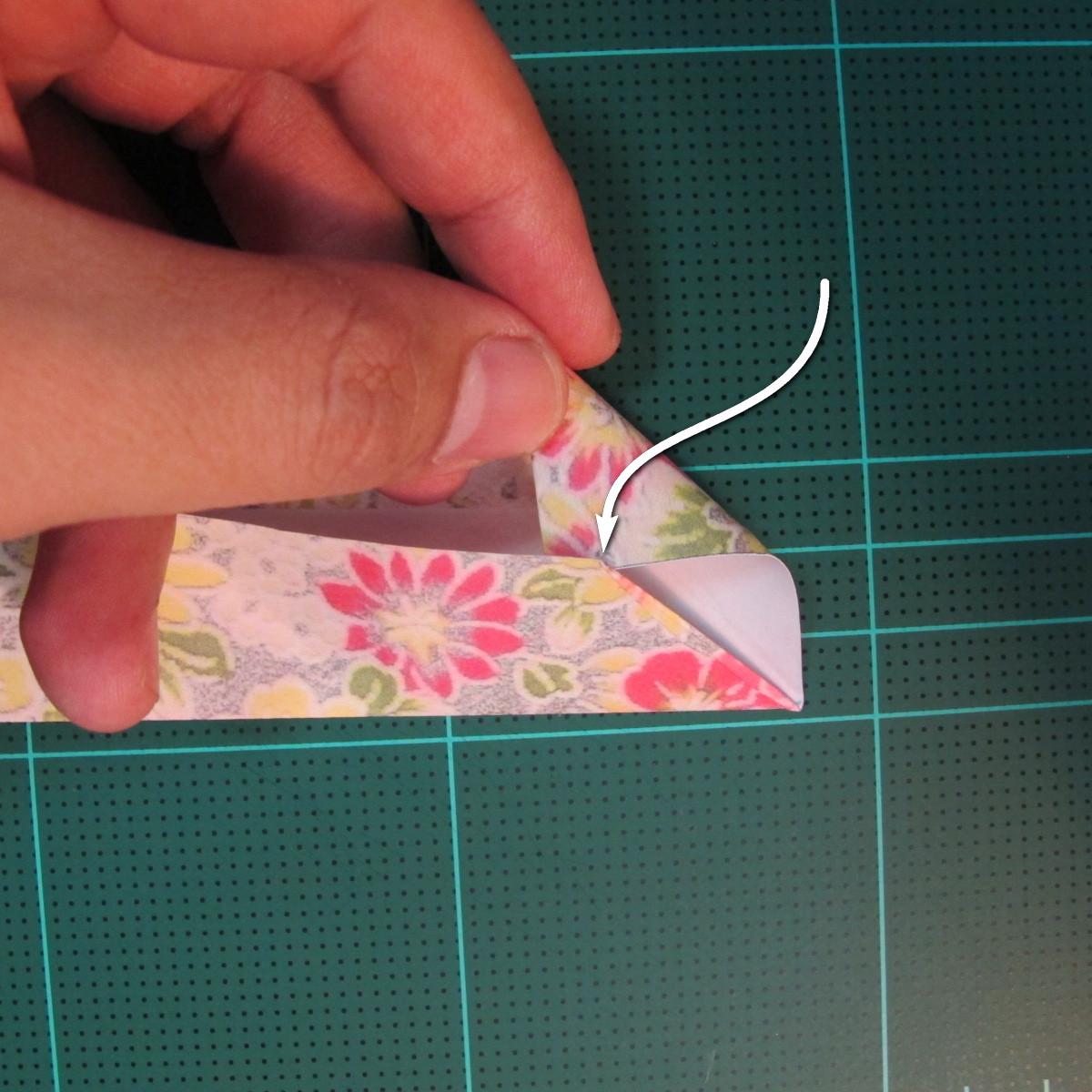การพับกระดาษเป็นรูปเรขาคณิตทรงลูกบาศก์แบบแยกชิ้นประกอบ (Modular Origami Cube) 010