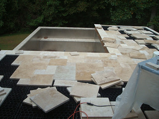 Denby Pool Deck Paver Installation | by Silca System