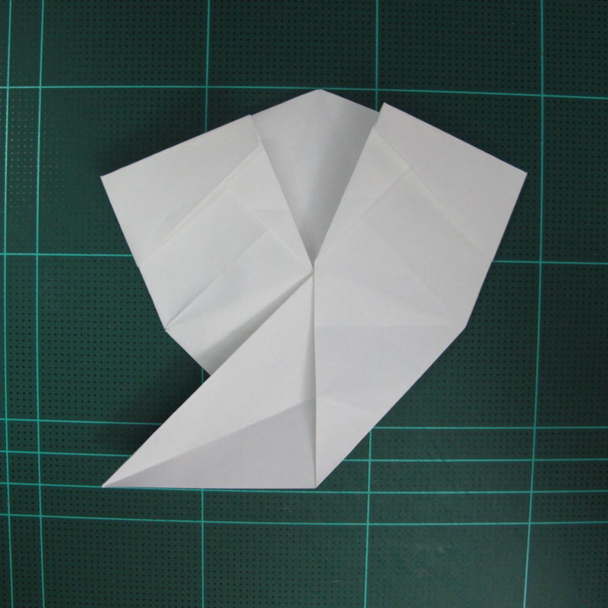 วิธีพับกระดาษเป็นรูปปลาแซลม่อน (Origami Salmon) 029