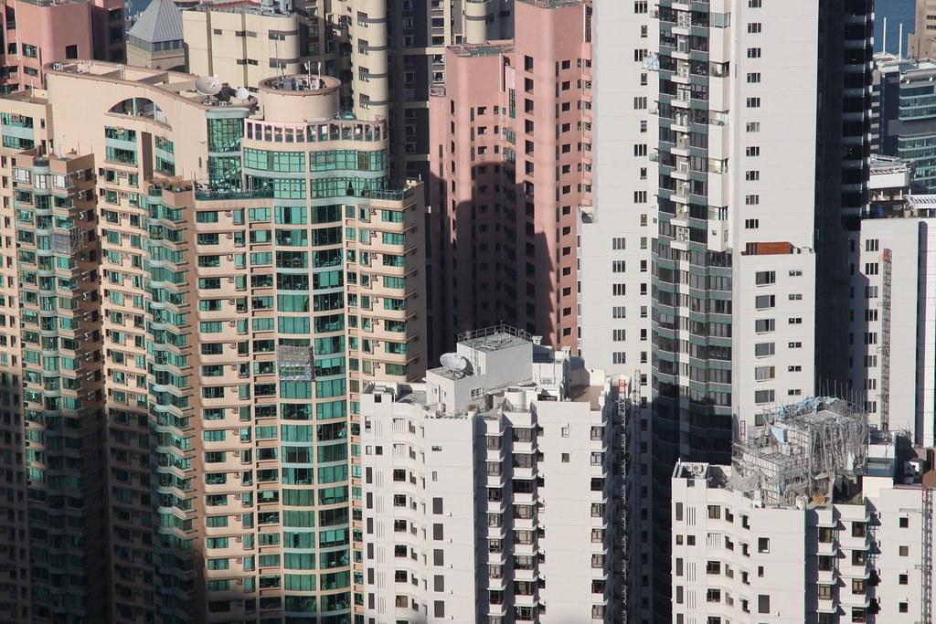 Urban Environments - Vertical living in Hong Kong