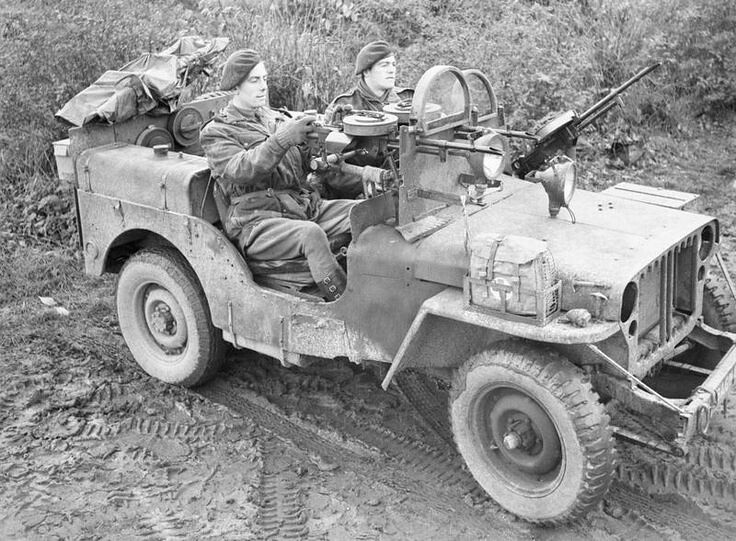 An SAS Willys MB Jeep 4x4