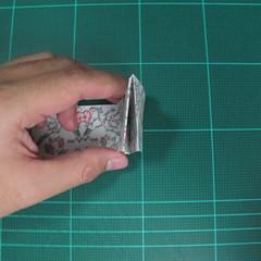 วิธีพับกระดาษรูปหัวใจคู่ (Origami Double Heart)  019