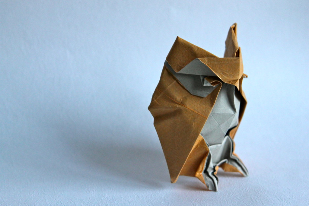 How to Make an Origami Owl (with Pictures) - wikiHow | 683x1024