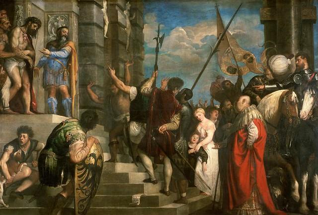 Tizian / Titian / Tiziano,  Ecce Homo