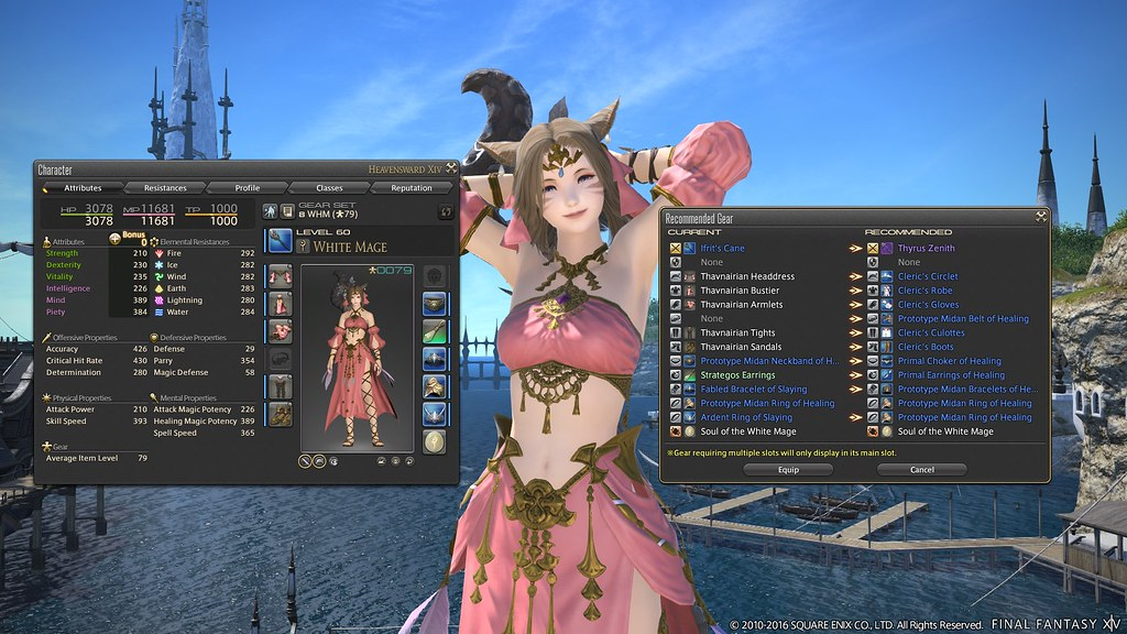FFXIV Patch 3 3: Recommended Gear | PlayStation Blog | Flickr