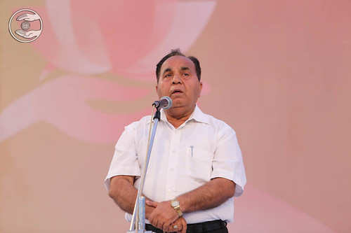 Member Executive Committee, SNM, S.L. Khurana from Delhi
