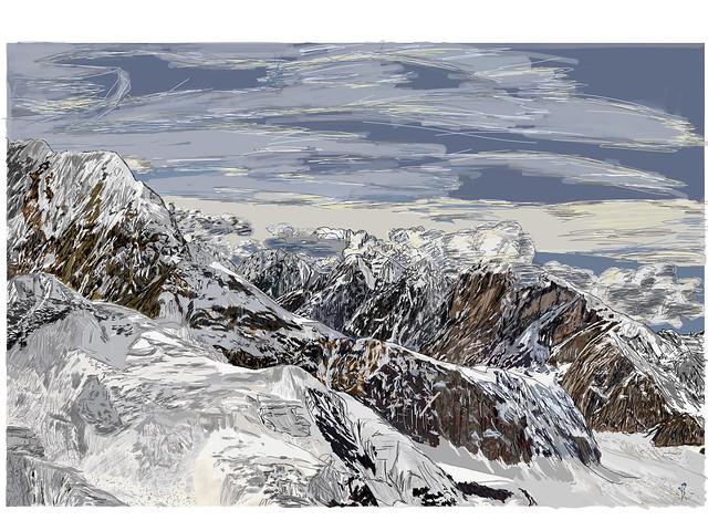 My Drawings - Denali National Park