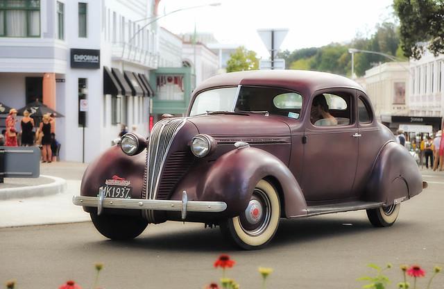 1937 Hudson Victoria Coupe