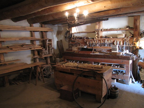 Bent's Old Fort: Carpentry Shop | by QuesterMark