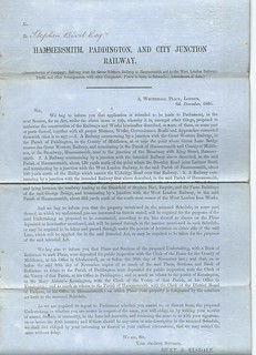 Hammersmith, Paddington and City Railway 1860 I UD | by ian.dinmore