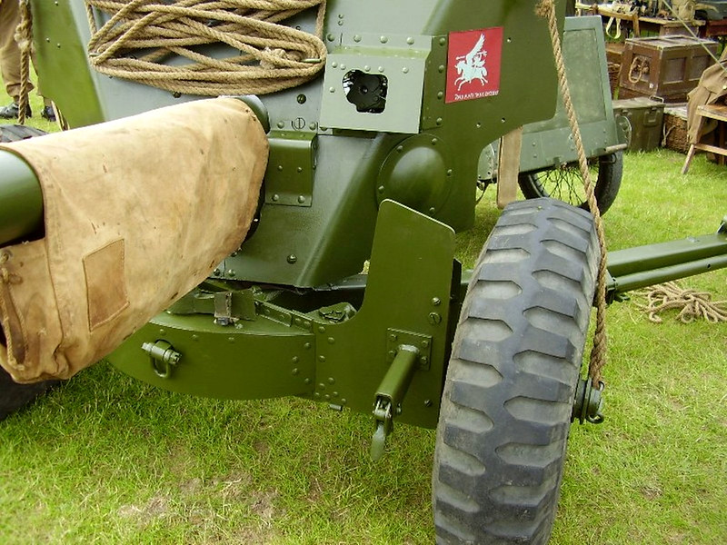 British 6pdr Anti Tank Gun (2)