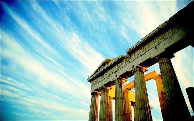 Spirit of Athens #goodmorning #colorsofGreece #bringthegreeksculpturesbackfromtheBritishMuseum