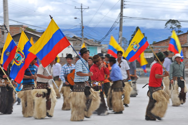 native people from ecuador