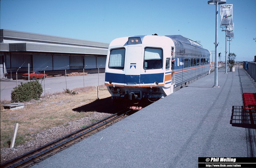 22 January 1987 Prospector South Beach Railway Station Fremantle by Phil
