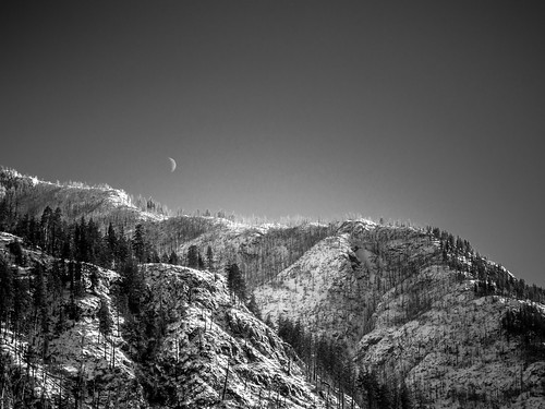 Moon Over Rex Creek | by ryanjsommers