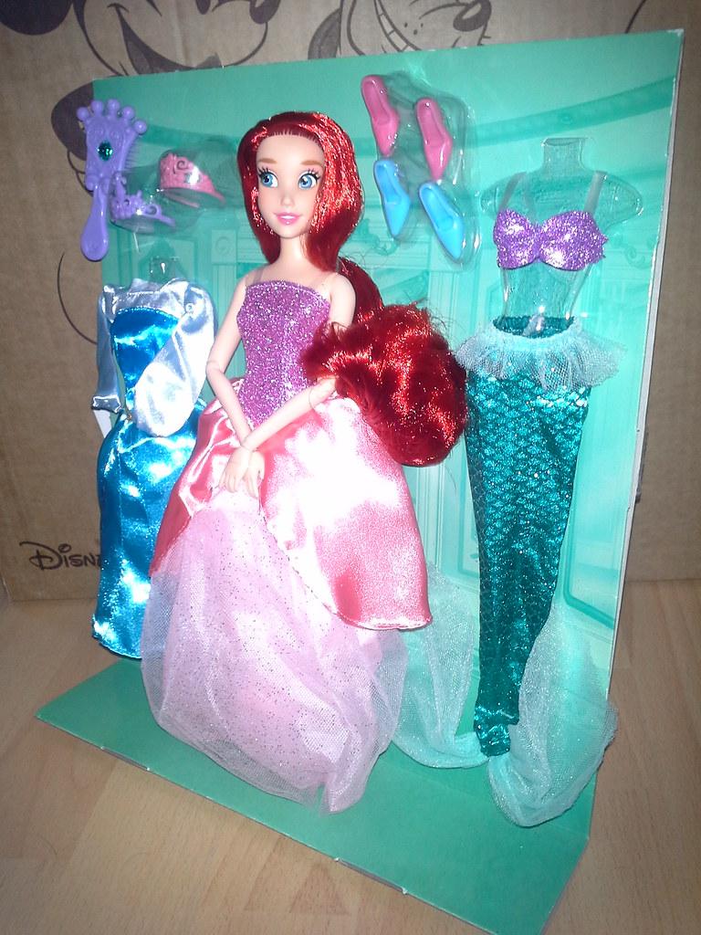 Disney Store: Ariel / The Little Mermaid Wardrobe Set (Eur