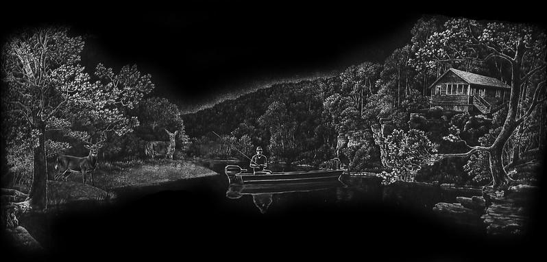 Fisher on Lake