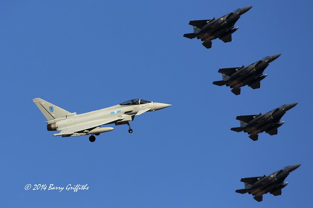 WHOAH! I THINK I'LL WAIT!   Eurofighter Typhoon FGR4 ZK318 EO 6 Squadron, RAF Station Leuchars, UK Red Flag-14-1