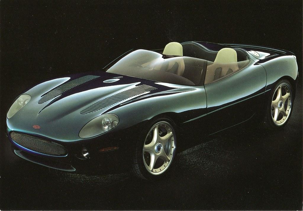 1998 Jaguar XK 180 Concept | As shown at Paris Motor Show ...