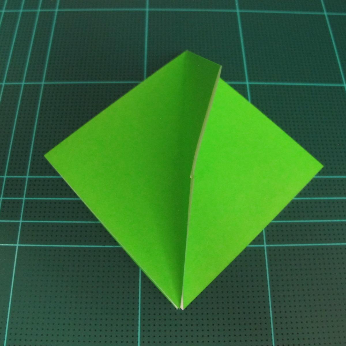 วิธีพับกระดาษเป็นจรวด X-WING สตาร์วอร์ (Origami X-WING) 007