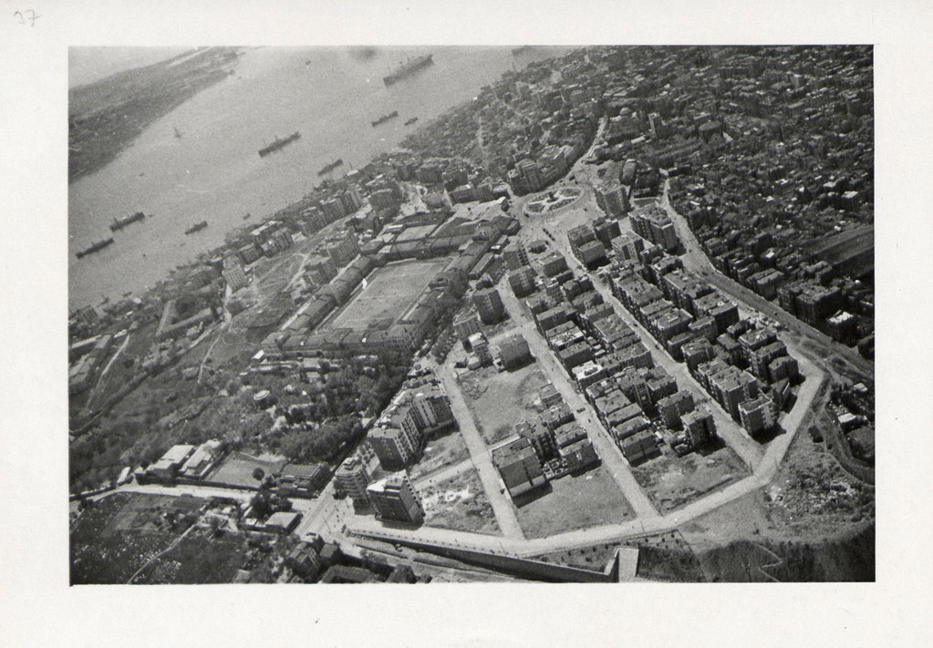 An Aerial View of Taksim Artillery Barracks