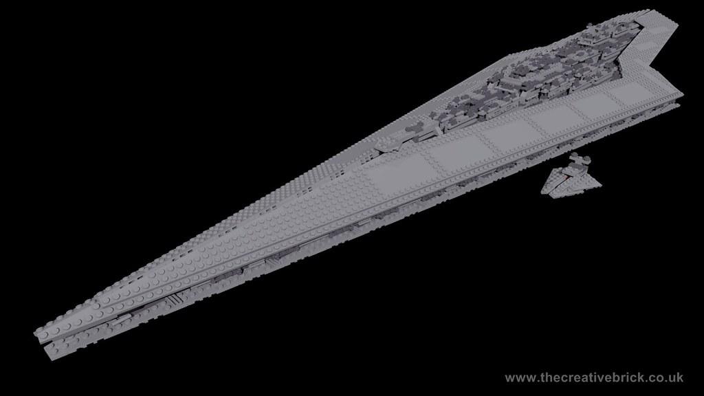 Ultimate super star destroyer lego set