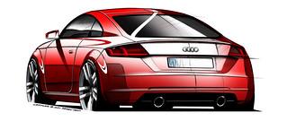 2015 Audi TT sketch - 02   by Az online magazin