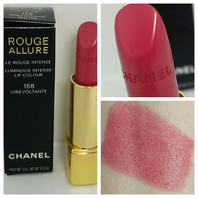 8397f418d77 ... LA PERLE DE CHANEL collection - Chanel 158 Virevoltante Rouge Allure  Luminous Intense Lip Colour