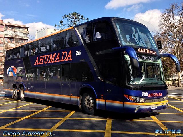Buses Ahumada.-