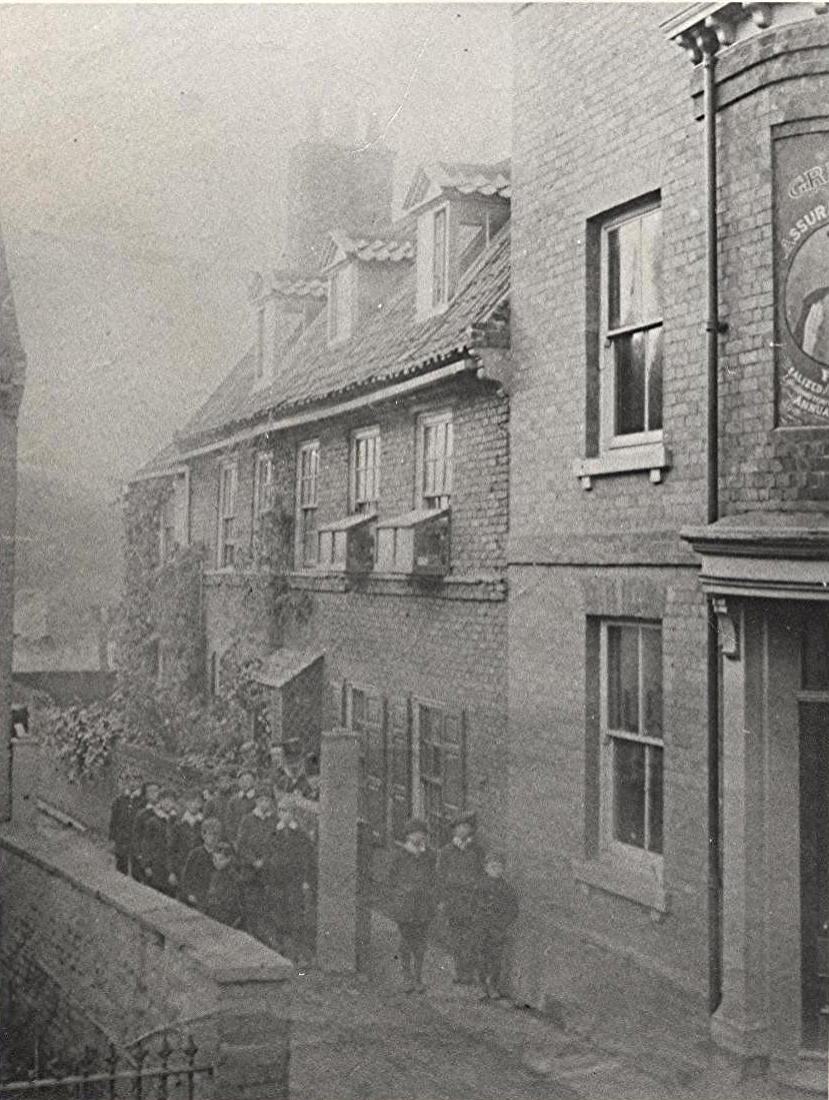The Bluecoat School, Highgate, circa 1885 (archive ref PH-1-87)