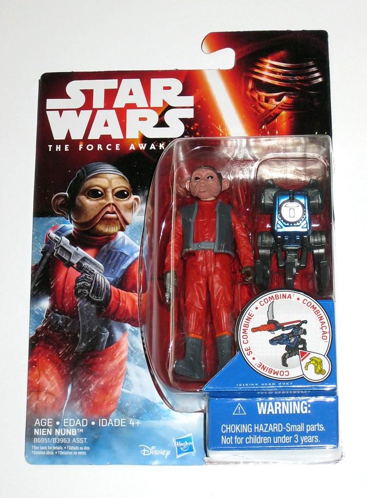 Figurine Hasbro STAR WARS The Force awakens NIEN NUNB Figure