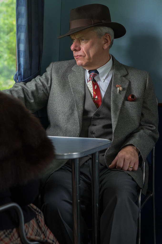 Foyle's War  | A scene reminiscent of the T V  series Foyle