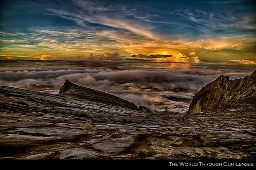 mountains rock sunrise malaysia borneo granite sabah hdr kinabalu mtkinabalu 2013 trip2013 theworldthroughourlenses