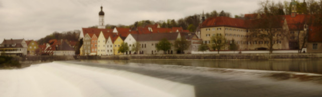 Landsberg - panoramic pinhole photo